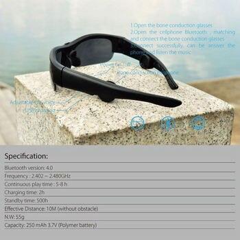 Occhiali Da Sole Con Le Cuffie | Buona Qualità Di Conduzione Ossea Occhiali Da Sole Di Guida Vocale Intelligente Auricolari Bluetooth Cuffie Sostituibile Lens Auto Di Guida Sudore P