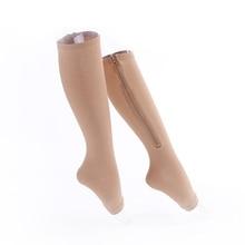 Zipper Compression Socks