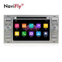 Navifly Бесплатная доставка! 7 дюймовый 2din windows ce6.0 dvd плеер автомобиля для C Max Connect Fiesta Fusion Galaxy Kuga Mondeo S Max Фокус