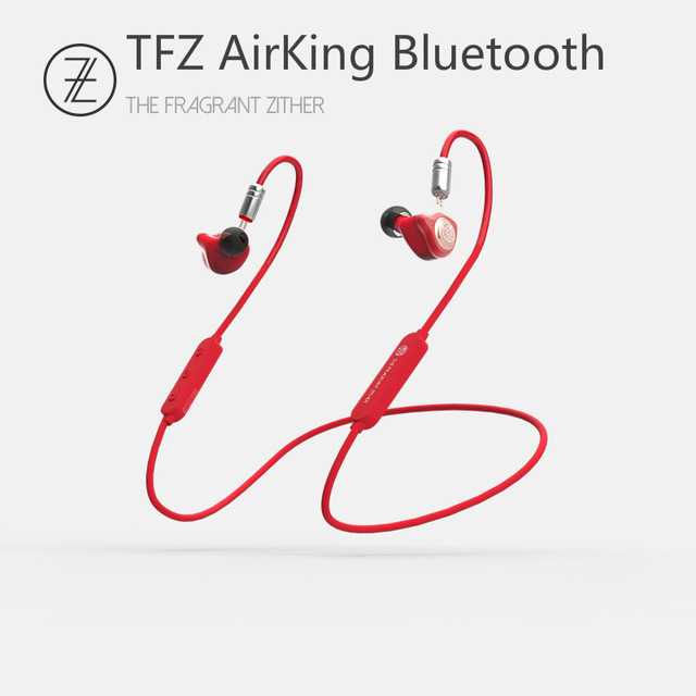TFZ Airking Bluetooth 4.1 12mm Graphene Sports Wireless In-ear Hanging Neck Run HIFI Monitor Earphones w/ 0.78 Detachable IEMS 1
