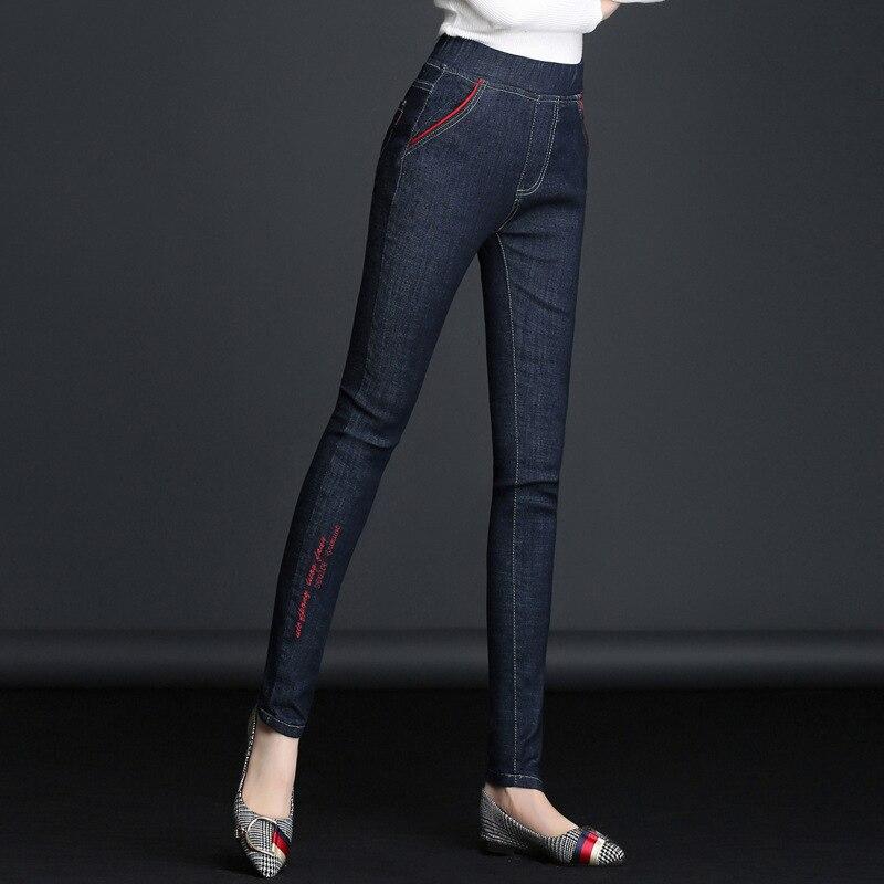 Джинсовые брюки-карандаш для мамы, с цветочным узором, Pantalon Femme, униформа для беременных, Одежда для беременных, hamile 4UA401-409