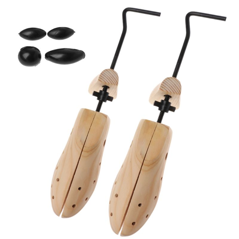 Shoe Trees Shaper Wood Expander Support Adjustable Extender Pumps Boots Flat Shoes Flattie High Heel Rack Stretcher Keeper