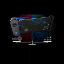 Wireless Single Side Handle Mobile Gamepad