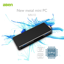 Bben MN10 Mini PC Windows 10 Intel Apollo Lake N3350 3GB RAM 64GB eMMC WiFi BT4