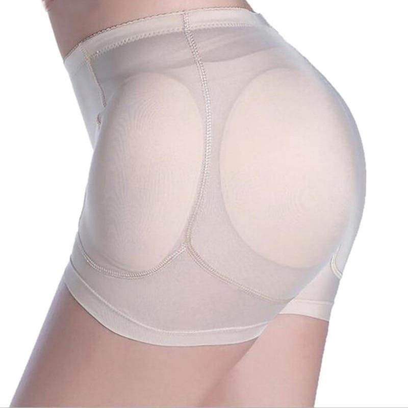 2018 M-4XL Women Fake Butt Pad Hip Panties Abundant Buttocks Pad Thickening Boxer Briefs Ladies Underwear Shaper Sexy Ass Shaper