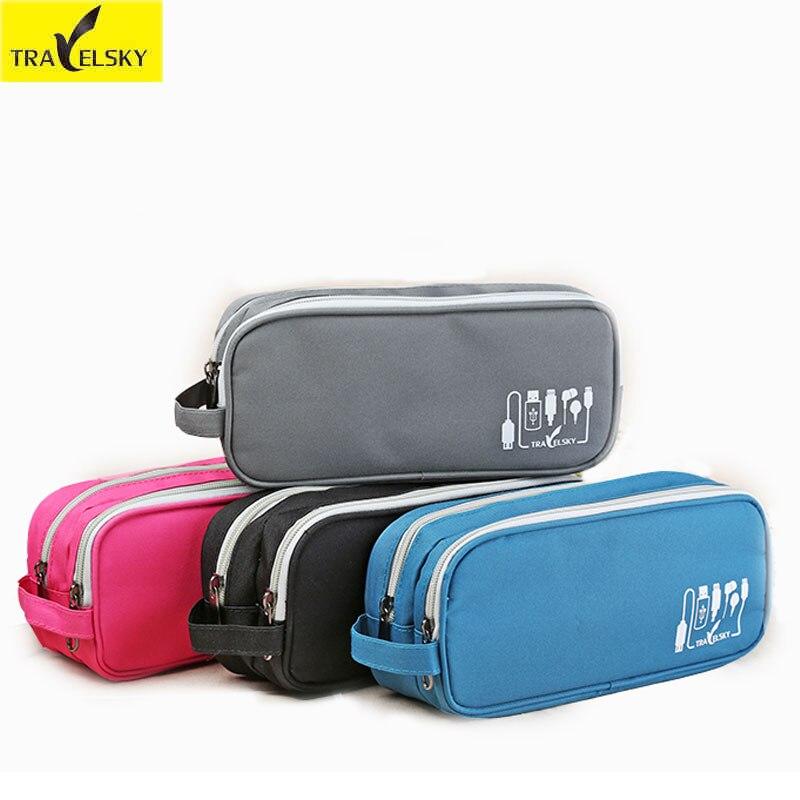 Výprodej Markdown prodej Digitální úložná taška Mobilní telefon Data Kabel Nabíječka Balíček Zip Bag Přenosný Sluchátko Organizér Tašky