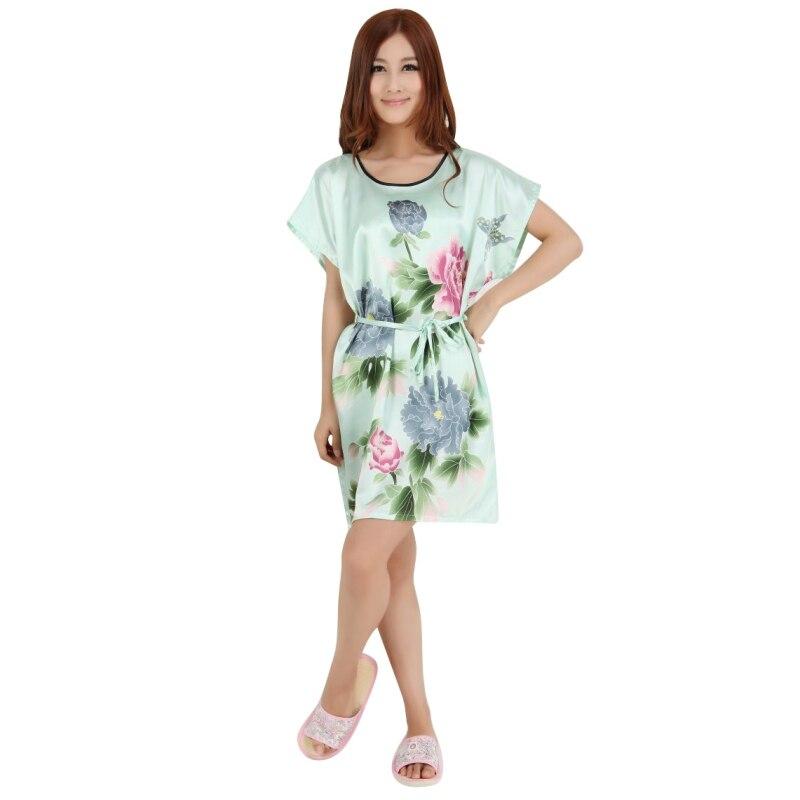 2017 Sexy Women Sleepwear Robes Nightwear Shirt Sleep