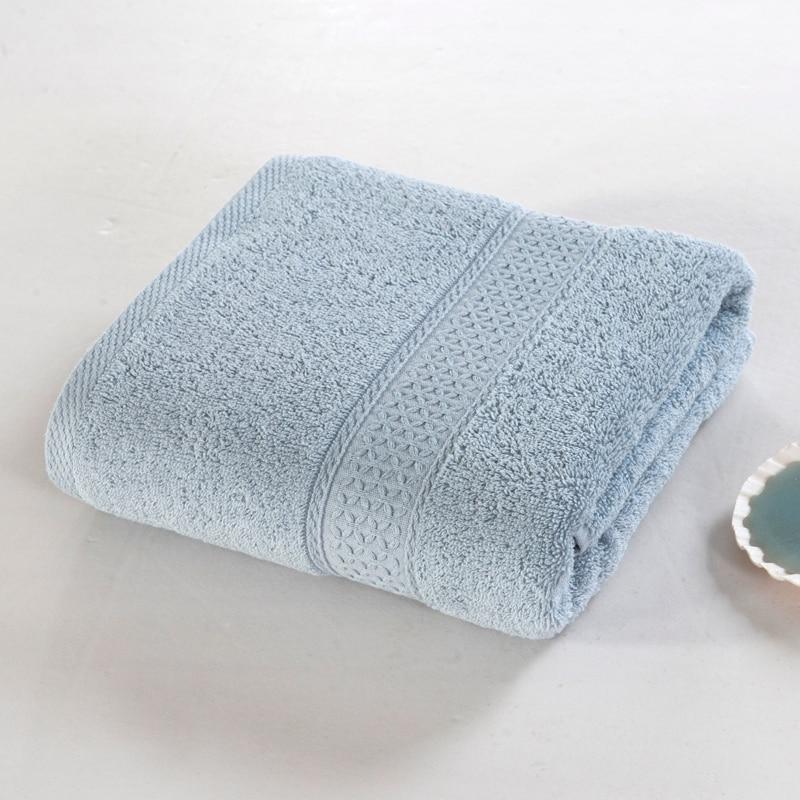 프로모션 100 %면 간단한 목욕 수건 원사 가닥 매우 - 홈 섬유 - 사진 2