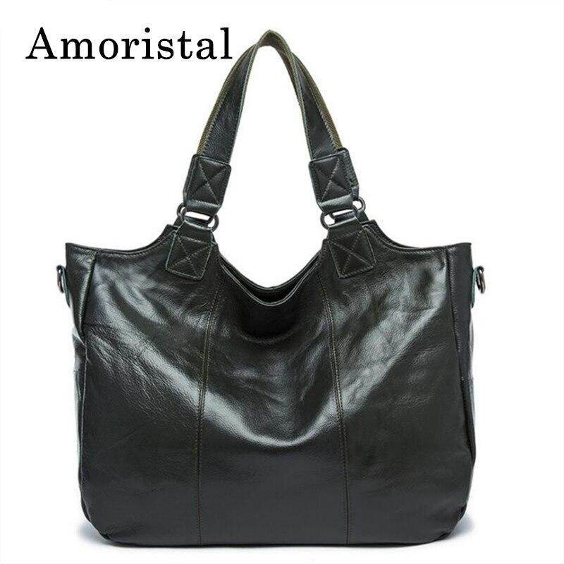 Women Shoulder Bags Vintage Genuine Leather Bag Blackish Green Ladies Handbags Diagonal Portable Soft Female Crossbody Bag B187 цена