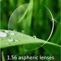Calidad cr39 HMC 1.56 gafas de lentes asféricas miopía y la presbicia revestimiento verde uv protección contra arañazos lente de lectura óptica