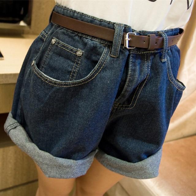 Aliexpress.com : Buy Women Fashion Solid Denim Shorts Summer High ...