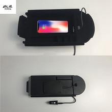 1 лот мобильный телефон беспроводной зарядки подлокотник ящик для хранения для 2016-2018 Toyota C-HR CHR C HR