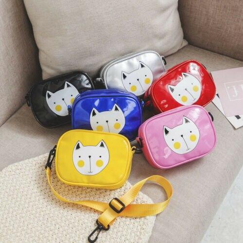 1Pc Fashion Toddler Child Baby Cartoon Zipper Messenger Bags Children Kids Girls Princess Shoulder Bag Handbag