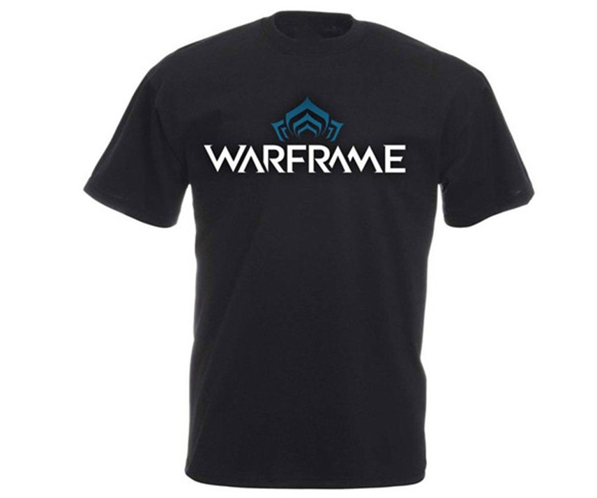 WARFRAME RPG MMO Multi Player Online Shooter Role Playing Game Logo Oversized T Shirt Free Shipping Tops T-shirt image