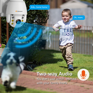 Image 5 - Jennov 5XZOOM PTZ IP Camera 1080P 2MP Two Way Audio Outdoor Video Surveillance Camera Wifi Home Security Wireless Wifi Cameras
