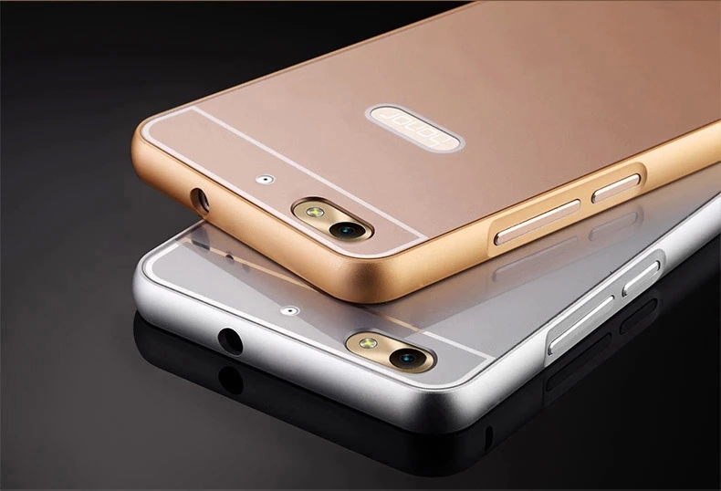 huge selection of 718ca 28f2d US $3.99 |Honor 4C Case Hot Premium Metal Aviation Aluminum Frame + Acrylic  Mirror Back Cover Phone Cases for Huawei Honor Play 4C on Aliexpress.com |  ...