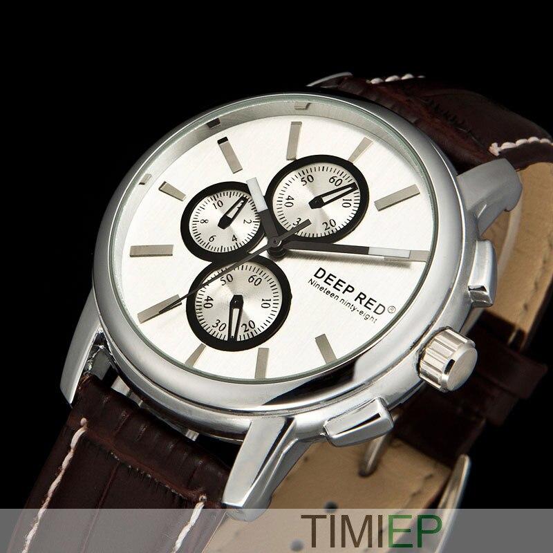 074fb04404f Guangzhou atacado Couro Strap Relógios Homens Vestido Relógios Men Quartz  Watch