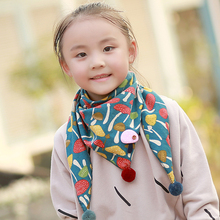 2017 Hot Sale New Fashion Ball Scarf font b Children b font Winter Baby Neck Warm