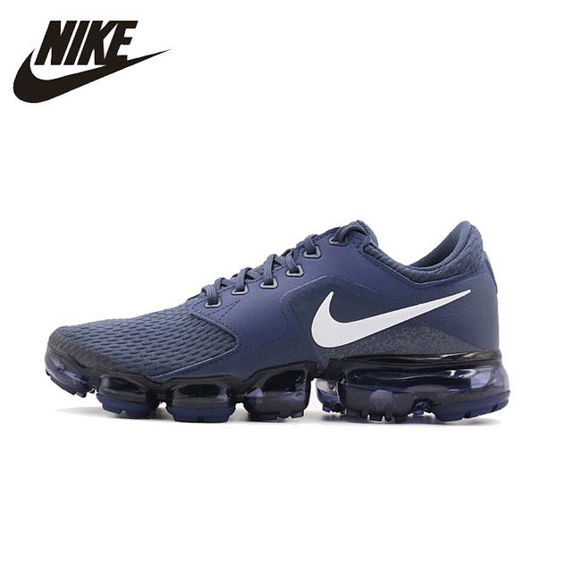 buy popular caba2 bb738 US $127.8 29% OFF|Nike Original New Arrival 2018 VaporMax Men's Running  Shoes Breathable Comfortable Support Sports Sneakers #AH9046-in Running  Shoes ...