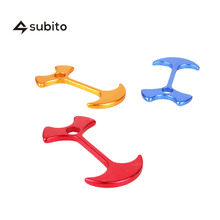 SUBITO 10PCS Aluminum Alloy Board Clip Buckle Outdoor Camping Mountaineering Tent Wind Rope Buckle Tent Sun Shelter Accessory