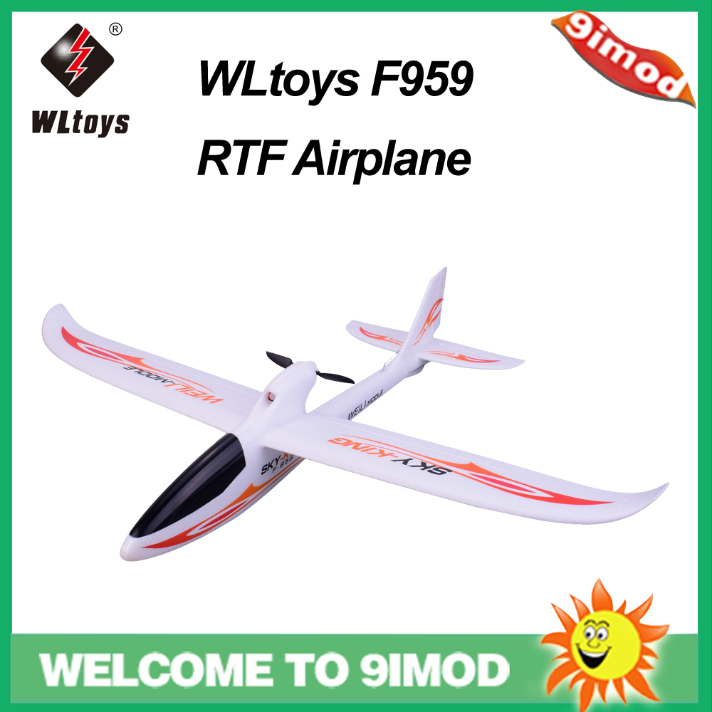 Avion à voilure fixe Original WLtoys F959 Sky-king 2.4G 3CH RC RTF