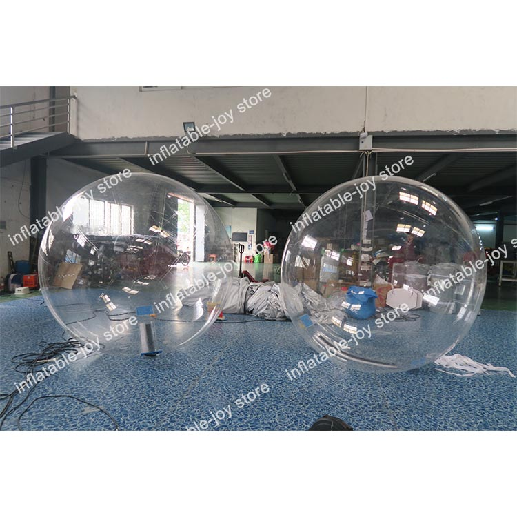 Cheap Inflatable Clear Water Balloon Large Assortment Human Walking Ball 2m/1.6m Diameter Inflatable Water Ball Nice Free Shipment