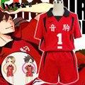 Бесплатная доставка Haikyuu Nekoma Средняя Школа № 5 Kenma Kozume Волейбольная Команда Косплей Костюм Волейбол-Джерси Спортивная Одежда Равномерное