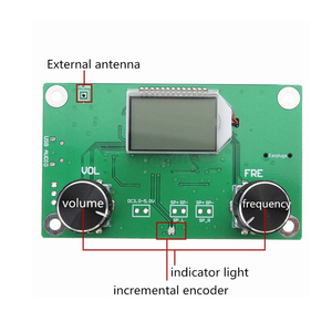 Image 5 - 1Pc 87 108MHz DSP & FM Módulo Receptor de Rádio Stereo PLL LCD Digital + Controle de Série