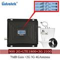 Усилитель сотового сигнала Lintratek 900 1800 2100 GSM  трехдиапазонный усилитель  ретранслятор мобильного сигнала DCS WCDMA 2G 3G 4G LTE Антенна #40