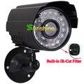 Металлический корпус HD CMOS цветной 700TVL Встроенный ИК-фильтр 24 светодио дный LED Nightvision внутренний/наружный водостойкий IR аналоговая камера - фото