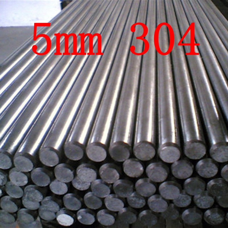 5mm 304 Stainless Steel Round Bar Steel Rod Metal Milling Welding Metal Working набор бит metabo 628849000