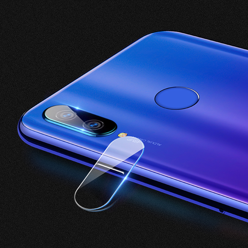 Image 5 - 2 in 1 Camera Glass Redmi Note 7 Tempered Glass Screen Protector Xiaomi Redmi Note 7 Glass Film redmi note 7 screen protector-in Phone Screen Protectors from Cellphones & Telecommunications