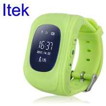 Itek LED Electronic Pedometer GPS Tracker SOS Kids Smart font b Watch b font Sports Outdoor