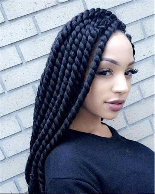 Astounding Aliexpress Com Buy Crochet Braids Havana Mambo Twist Crochet Short Hairstyles Gunalazisus