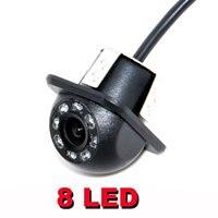HD CCD 8 LED Auto Achteruitkijkspiegel backup Camera 170 Groothoek Auto Omkeren Backup Voor Parking Monitor Camera Nachtzicht