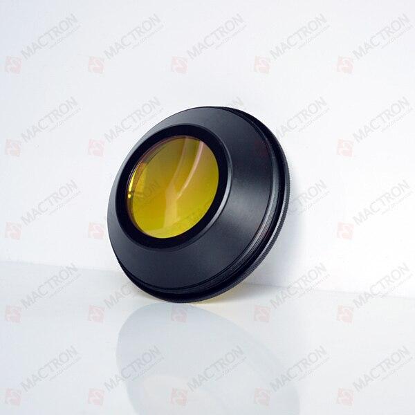 Lentille de balayage USA F Theta pour laser CO2 --- élément unique en ZnSe (champ de balayage 110x110mm, diamètre 48mm) - 2