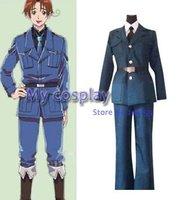 Hot selling Hetalia Axis Powers Lithuania Men's uniform Cosplay Costume Uniform Suit Coat Pants For Halloween