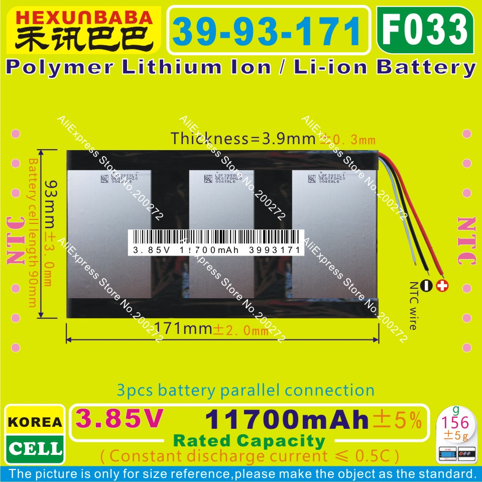 [L404] 3.7V,4200mAH,[3082138] PLIB ( polymer lithium ion battery ) Li-ion battery for tablet pc,power bank,cube,onda,ainol,ampe parallel