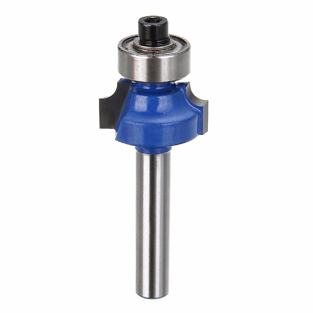1pc Blue 1/4 Radius 1/4 Shank Router Bit Carbon Steel Round Over Woodworking Cutter Tool1pc Blue 1/4 Radius 1/4 Shank Router Bit Carbon Steel Round Over Woodworking Cutter Tool