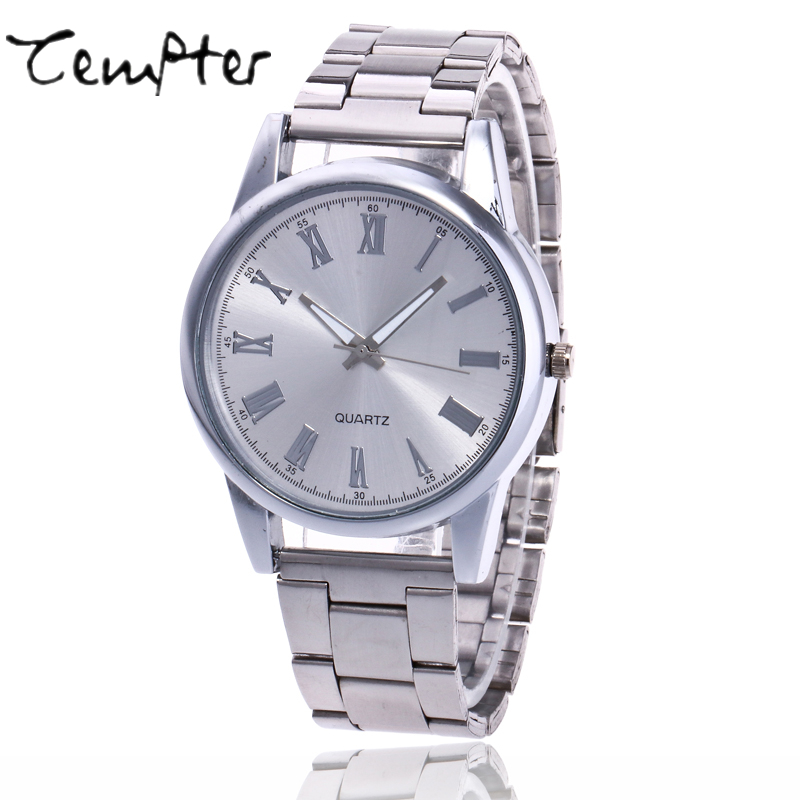New Top Luxury Watch Men TEMPTER Brand Men's Watches Ultra Thin Stainless Steel Quartz Wristwatch Fashion casual watches Clock new arrival 2015 brand quartz men casual watches v6 wristwatch stainless steel clock fashion hours affordable gift