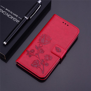 3D Flower Flip leather case on For Samsung A10 Case back phone case For Samsung Galaxy A10 A 10 SM-A105F A105 A105F Cover(China)