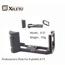цены на LB-XT1 Quick Release L Plate/Bracket Holder hand Grip for Fujifilm Fuji XT1 X-T1 Camera ballhead