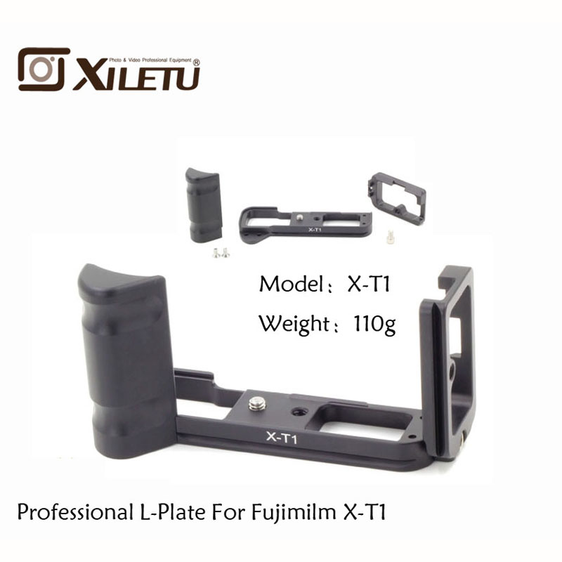 LB-XT1 Quick Release L Plate/Bracket Holder hand Grip for Fujifilm Fuji XT1 X-T1 Camera ballhead