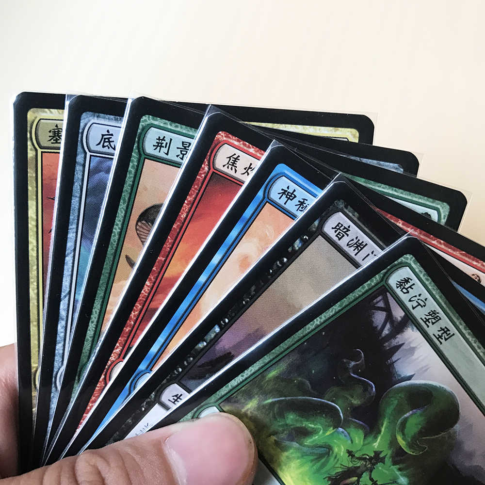 200 PCS/Lot Acid Free Transparent Perfect Fit Cards Sleeves Perfect Size  Sleeve Better Than KMC for MGT/PKM/STAR REALMS 64x89mm