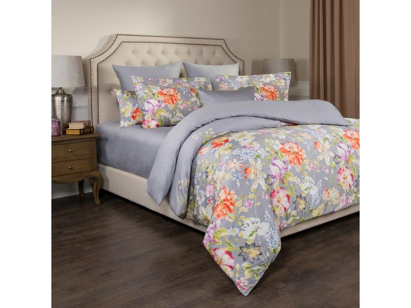 Bedding Set double-euro SANTALINO, PASTORAL, Gray