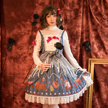 Sweet Lolita Victorian Dress Halloween Costumes For Women Japanese Attendant Animation Cosplay Clothing Cos Maid Girl Loli Skirt