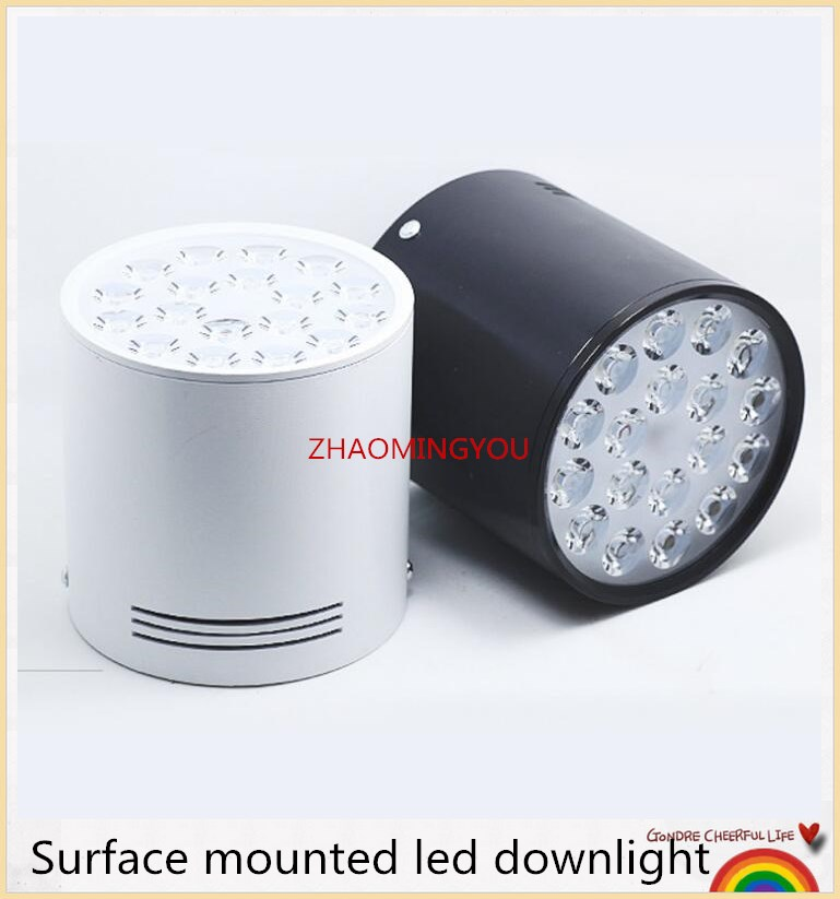 36w Dimmable Led Ceiling Down Light Bathroom Fitting: 6W 10W 14W 18W 24W 30W 36W Dimmable Led Spot Downlight