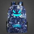2017 New Luminous Printing Backpack For Teenage Girls Pokemon Backpacks Children Backpack School Bags For Boys Mochila Escolar