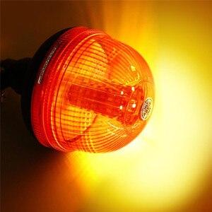 Image 2 - Mới 40 LED Chất Lượng Cao Cấp Cứu Cảnh Báo Đèn LED Nhấp Nháy Xoay Đèn Hiệu Máy Kéo Ánh Sáng Siêu Sáng Tuổi Thọ Động Cơ Hổ Phách #295477