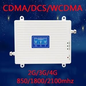 Image 5 - TFX BOOSTER 2G 3G 4G Tri banda señal Booster 850/1800/2100 CDMA WCDMA UMTS y LTE repetidor de celular/850/1800/2100 mhz amplificador
